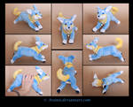 Plushie Commission: Sammy the Dog