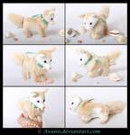Plushie: Pearl Puppy Beanie