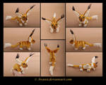 Plushie Commission: Samm the Fantasy Critter