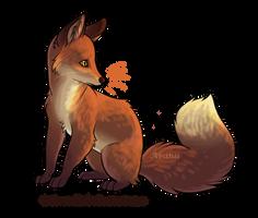 Sunset Fox by Avanii