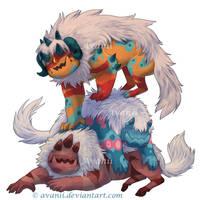 Monster Pile by Avanii