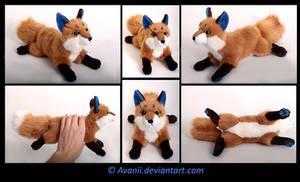 Plushie Commission: Fox