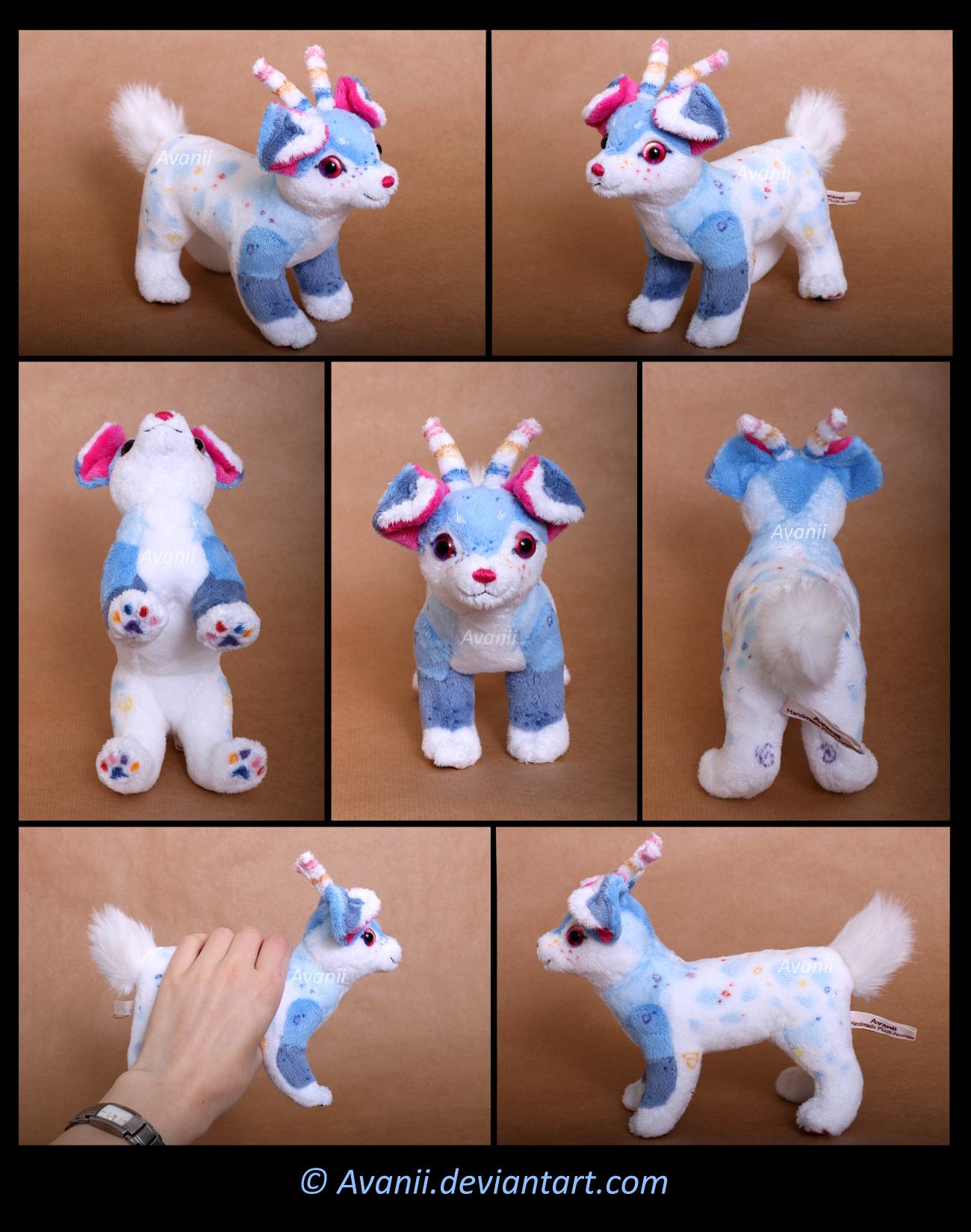 Plushie Commission: Otis the Aliendog by Avanii