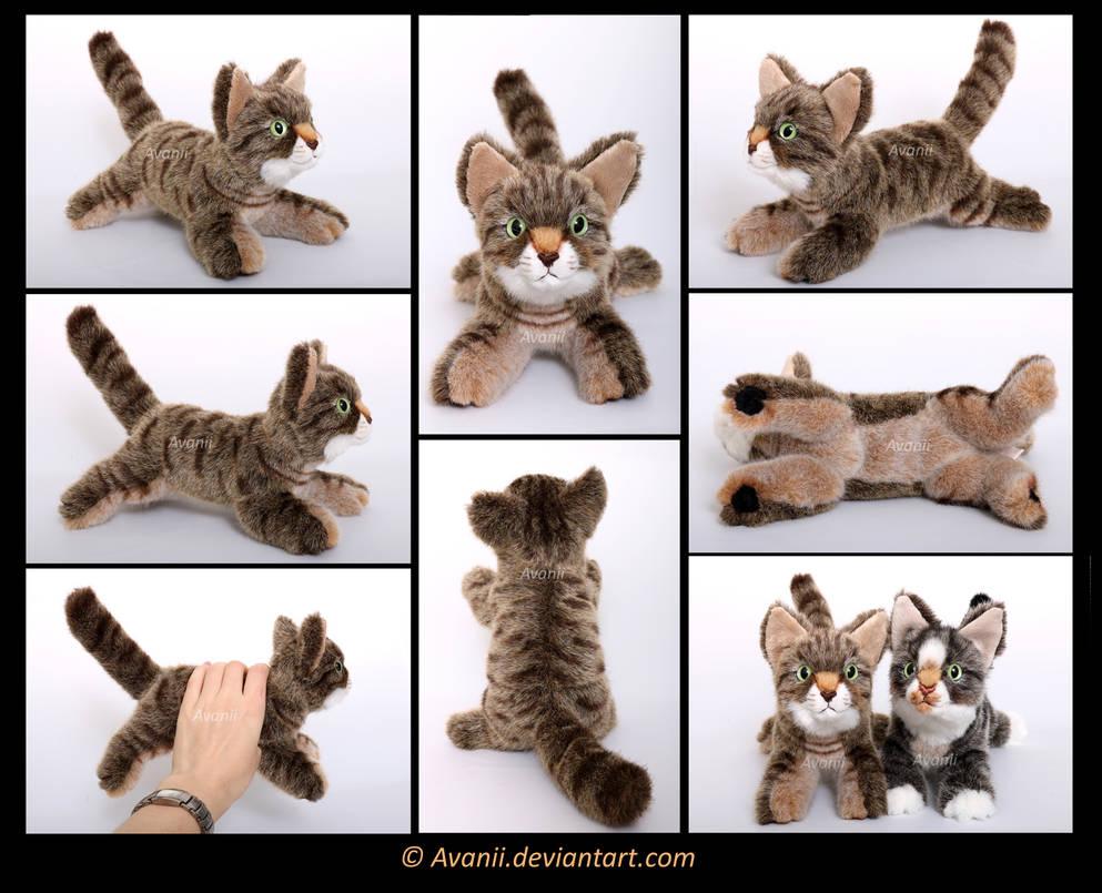 Plushie Commission: Kiara the Cat by Avanii