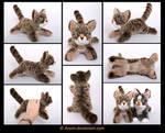 Plushie Commission: Kiara the Cat