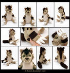 Plushie Commission: Hyenamon
