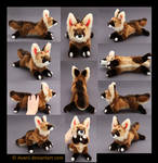 Plushie Commission: Akamai the Jackal