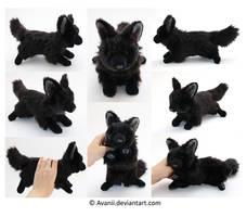 Plushie Commission: Renzo the Dog