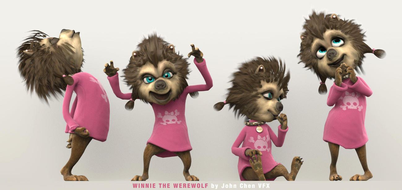 Winnie The Werewolf Hotel Transylvania By Amokk20