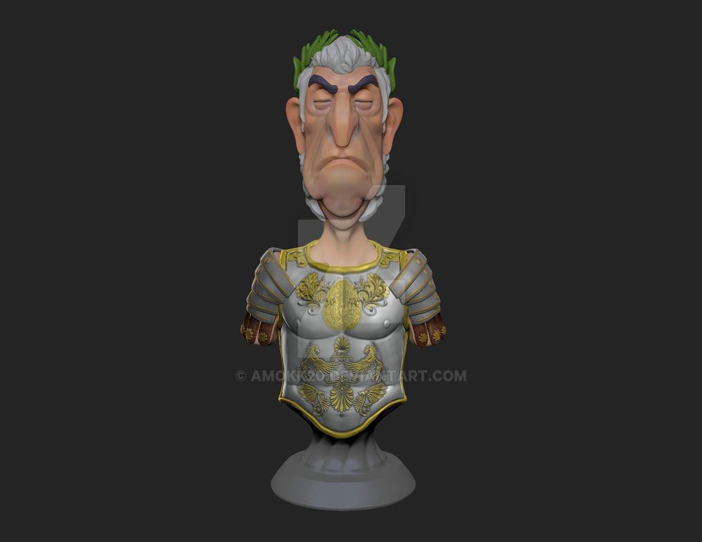 Caesar Free 3D Print STL by amokk20