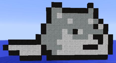 Hashigo Minecraft Piece by bloodiwolf666