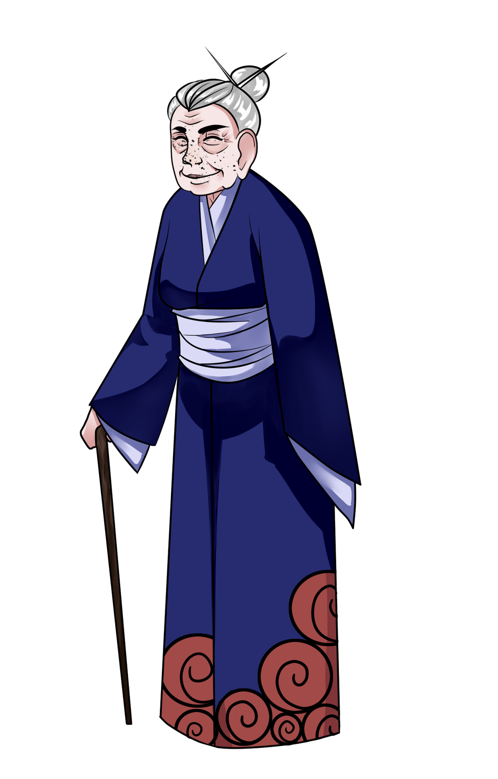 Baba-san by Arerethousa