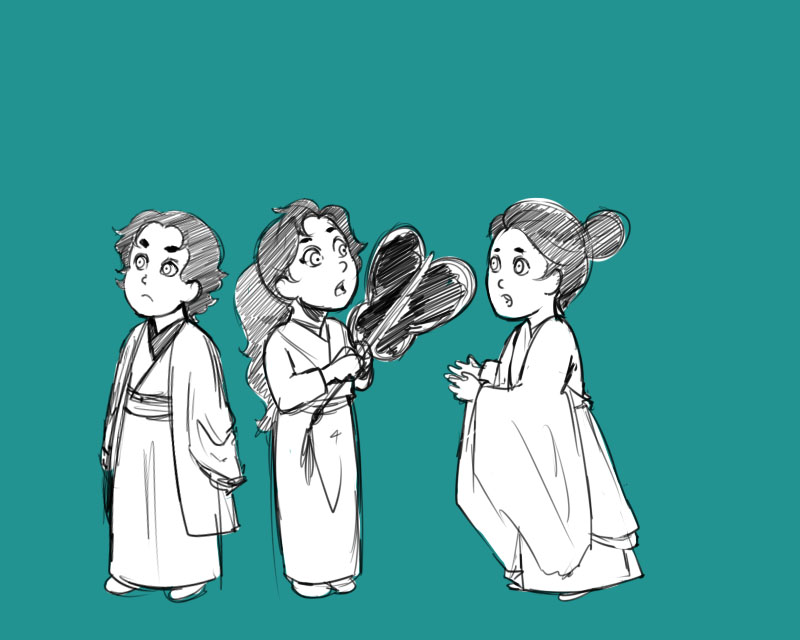 Yukimura Triplets by Arerethousa