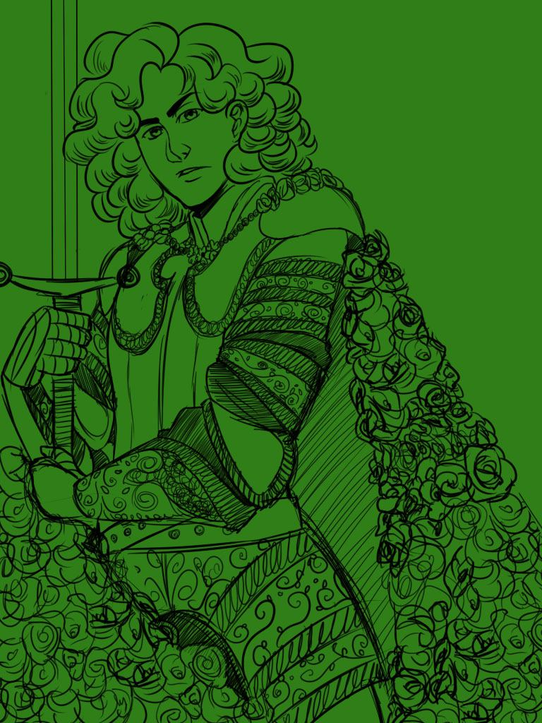 ASOIAF: The Knight of Flowers by Arerethousa