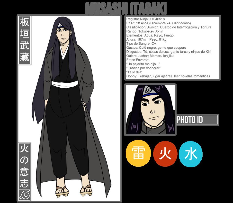 WOF: Itagaki Musashi by Arerethousa