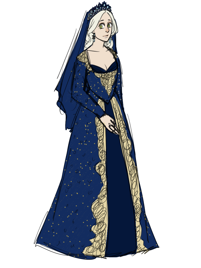 Sketch: Nadia Sultan by Arerethousa