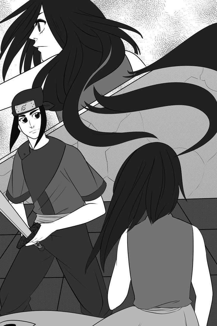 Examenes Chunnin: Gendo vs Kotone by Arerethousa