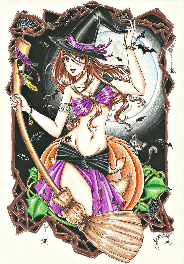 Claire's Halloween by saalenn
