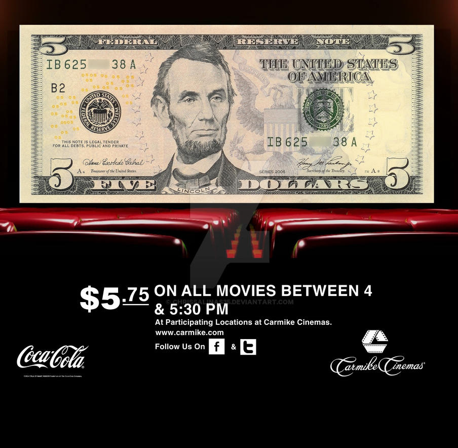 Carmike cinemas discount coupons