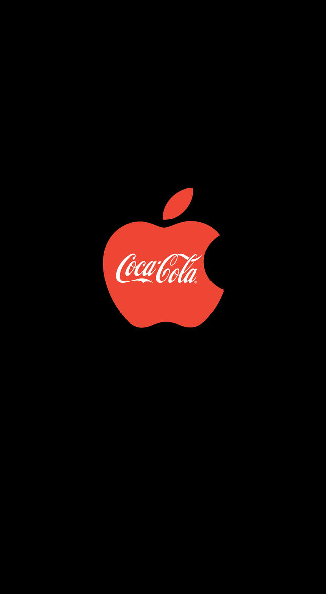 Apple IPhone Homescreen Coca Cola By ChrisSalinas35