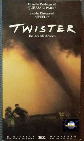 Twister 1996 Vhs Mca Universal Variant By Chrissalinas35 On Deviantart