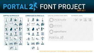 Portal 2 Font Project