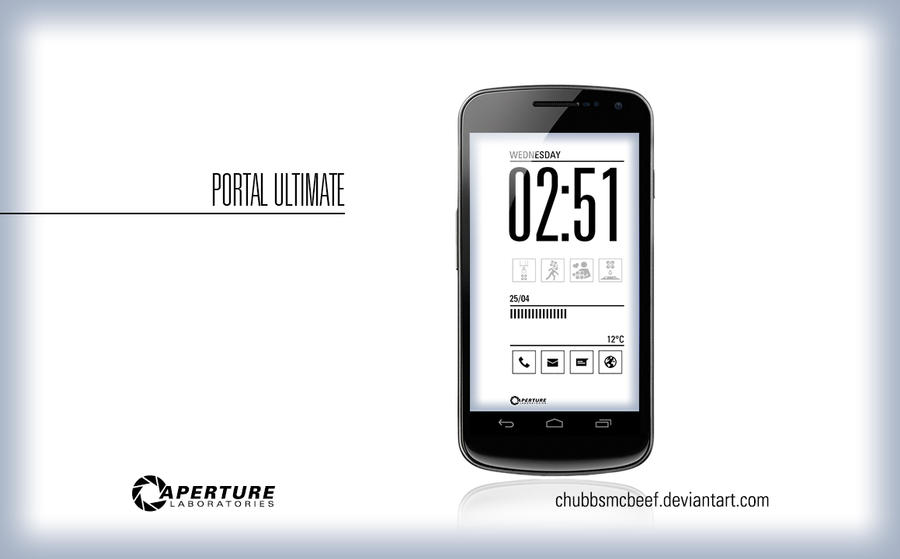 Portal Ultimate Lockscreen by ChubbsMcBeef
