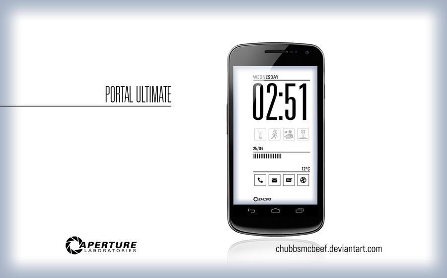 Portal Ultimate Lockscreen by ChubbsMcBeef