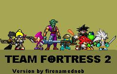 Team Fortress 2 Sprite version by firenamedBob