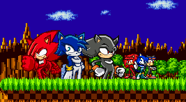 Sonic Riders: Team Ninjitsu by firenamedBob