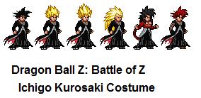 Goku Ichigo costume DBZ Battle of Z by firenamedBob