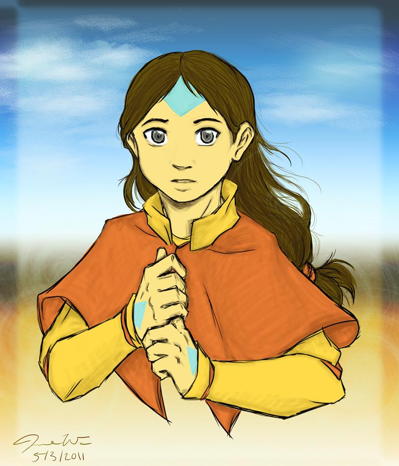 Avatar Aang: :TaangAU: Avatar Aang By Jinjinbun On DeviantArt