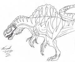 Tyrannospinus Aegyptirex by DemonRyo