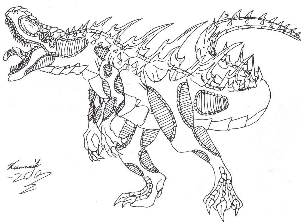 reptar coloring pages - photo#28