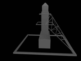Mooring mast WIP by LtJim