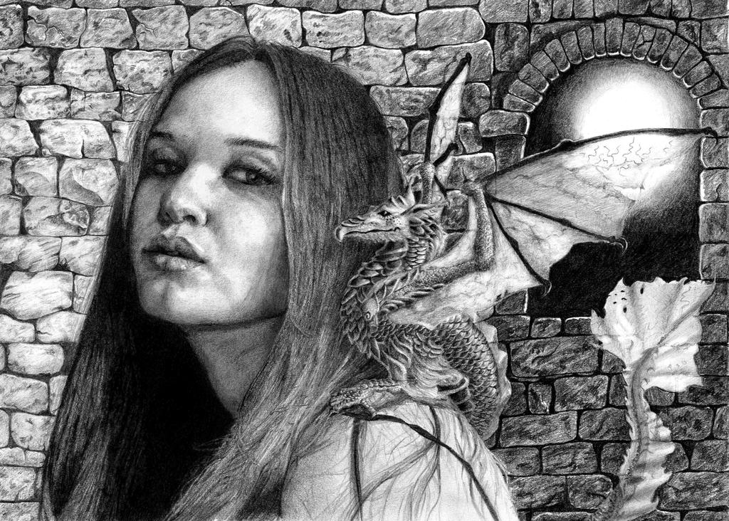 Shoulder dragon by DanielaIvanova