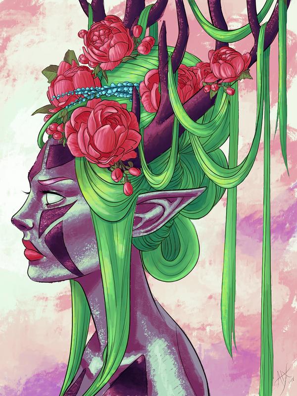 Ataraxicare coloring contest by DanielaIvanova