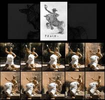 Peace, a WIP by redwattlebird