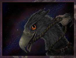 Buck... beak. by redwattlebird