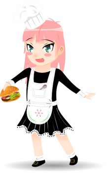 Eat your vector hamburger