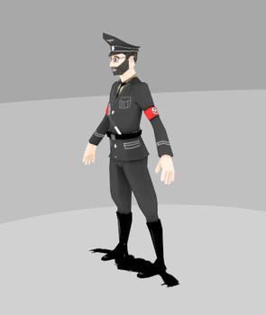 Low poly grammar nazi (for uncleschiva)