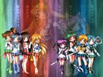 The Sailor Senshi Wallpaper