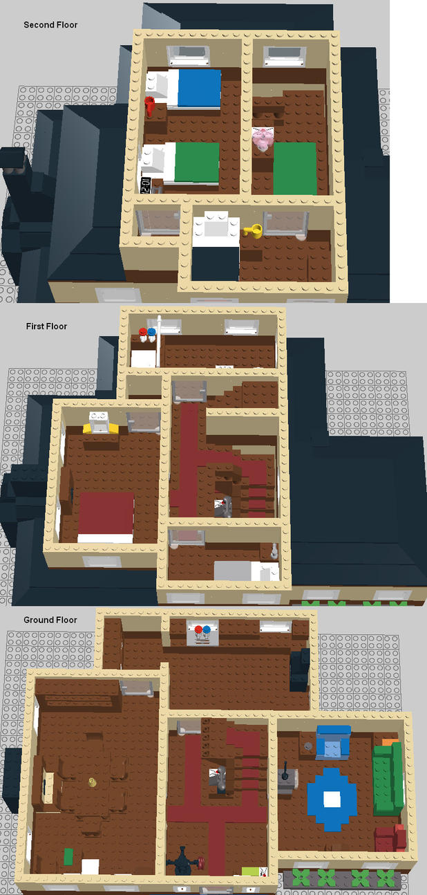 Weasel House Floor Plans by AMCAlmaron on DeviantArt – Psycho House Floor Plans