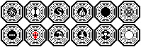 Dharma Initiative Pixel Logos by AMCAlmaron