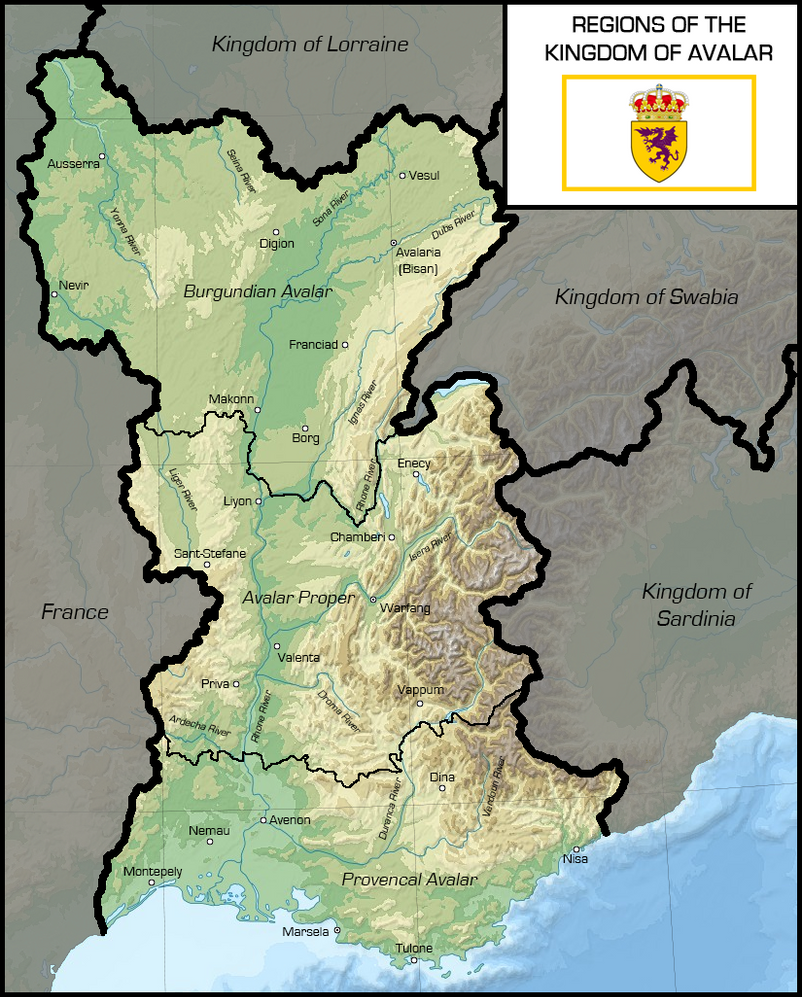 Avalar Proper - Map by AMCAlmaron