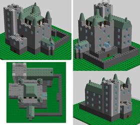 Castle Ixenieijr - Lego Design
