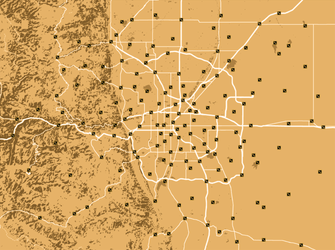 The Arapaho Wasteland - Fallout Fan Map by AMCAlmaron