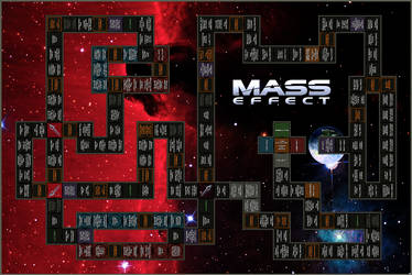 Mass Effect - Board Game Concept by AMCAlmaron