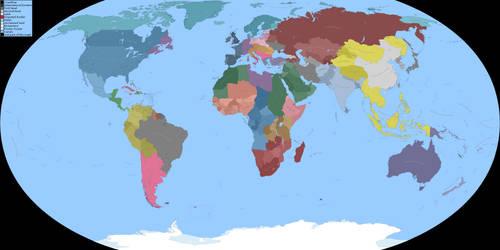 World Map - Dragons Unite