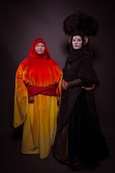 The Queen and her Handmaiden by Alydwen